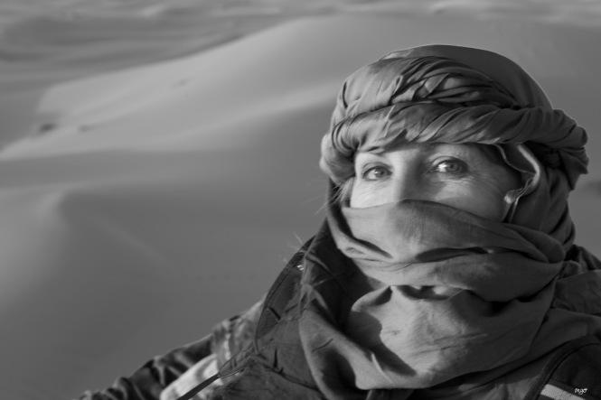 Paqui en las dunas 1
